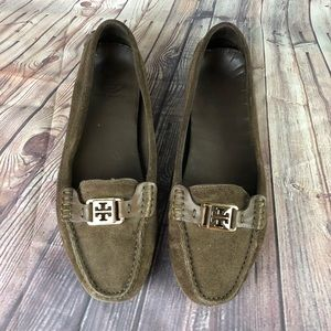 Tory Burch women's shoes size 10 leather upper